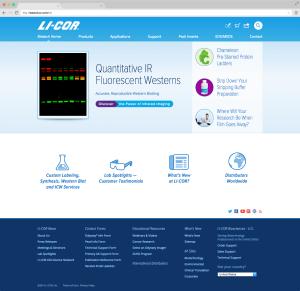 LI-COR Biotech Home 2014 Quantitative IR Westerns
