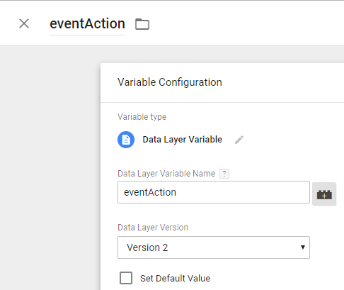 drift gtm google analytics data layer variables