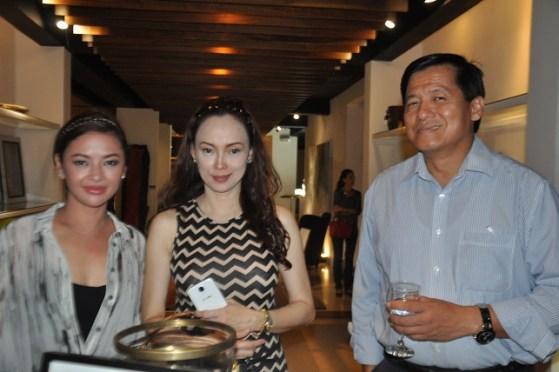 Rax Bautista-Eleonor Banatin-Jun Bisnar (Ayala Nuvali Vice President)