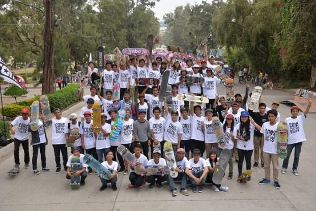 Skate participants