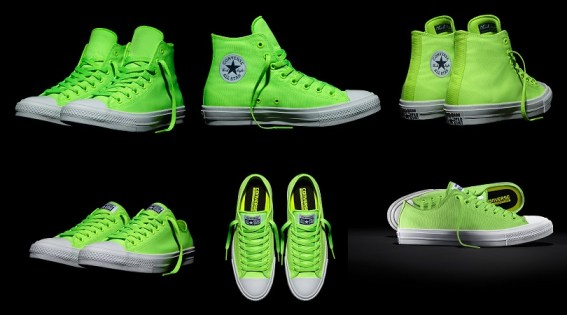 Chucks II Neon Green