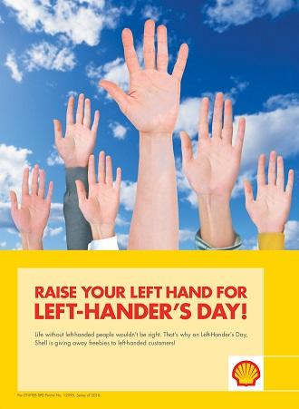 Shell Specials - International Left-hander's Day - 1