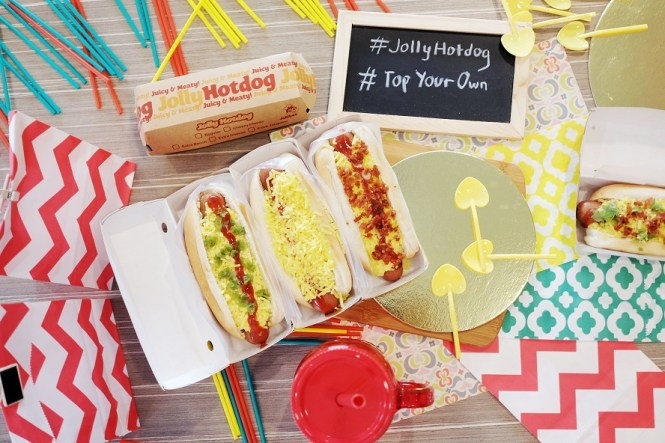 Jolly Hotdog Top Your Own
