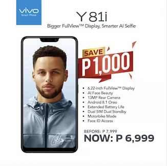 Price Drop Alert Vivo Y81i Can Be All Yours For Only Php6 999