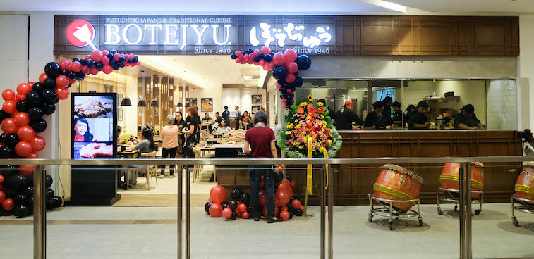 Botejyu Opens It's First Flagship Restaurant at One Bonifacio High Street
