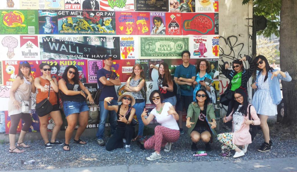 Bowery Wall Graff Tours
