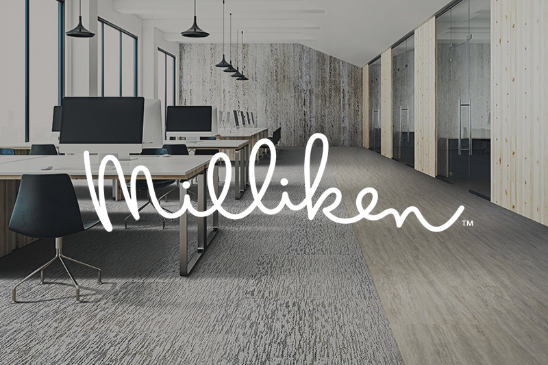 Ryan's Flooring is proud to carry Milliken commercial flooring products.