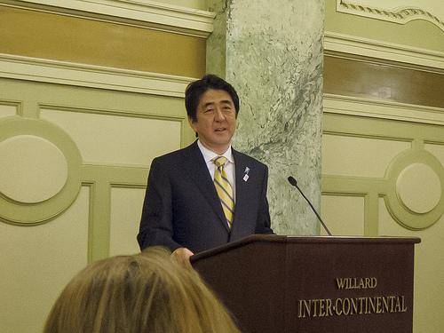 安倍総理大臣