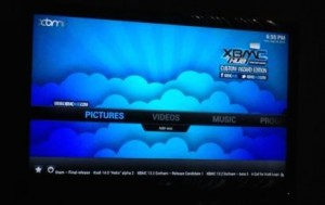 XBMC running on Amazon Fire TV