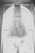 wedding dress at Union Station
