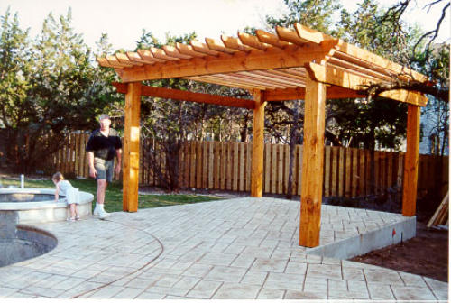 Pergola Kits And Trellises