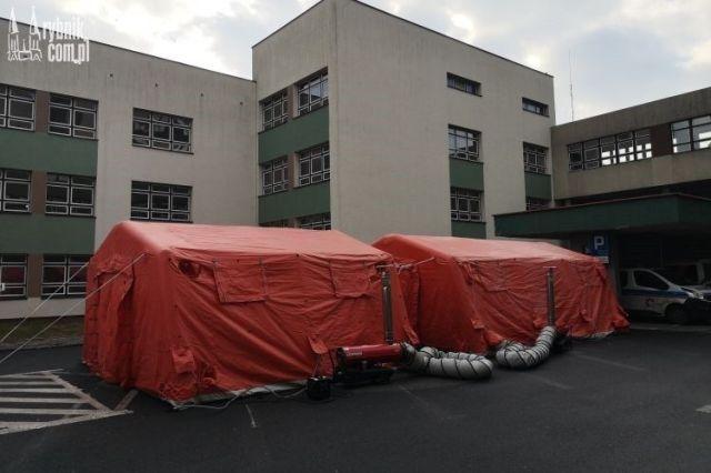 Szpital w Raciborzu będzie ewakuowany. WSS nr 3 gotowy na nowych pacjentów, bf