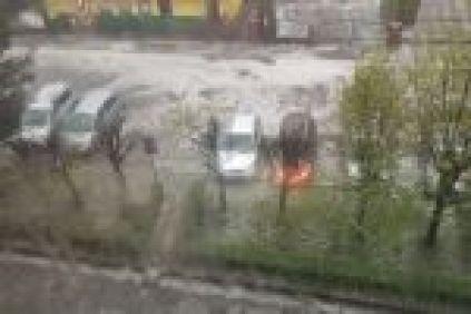 Oberwanie chmury nad Rybnikiem. Zalane ulice i piwnice. Strażacy mają mnóstwo roboty (wideo), Czytelniczka