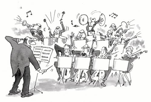 Cartoon-orchestra