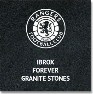 Ibrox Forever Granite Stones