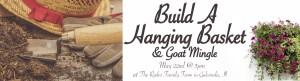 Design A Hanging Basket & Goat Mingle