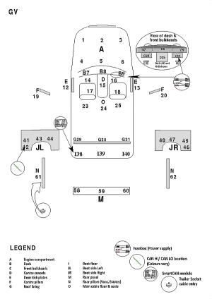 Peugeot 5008 2009 Towbar Wiring Fitting Instructions
