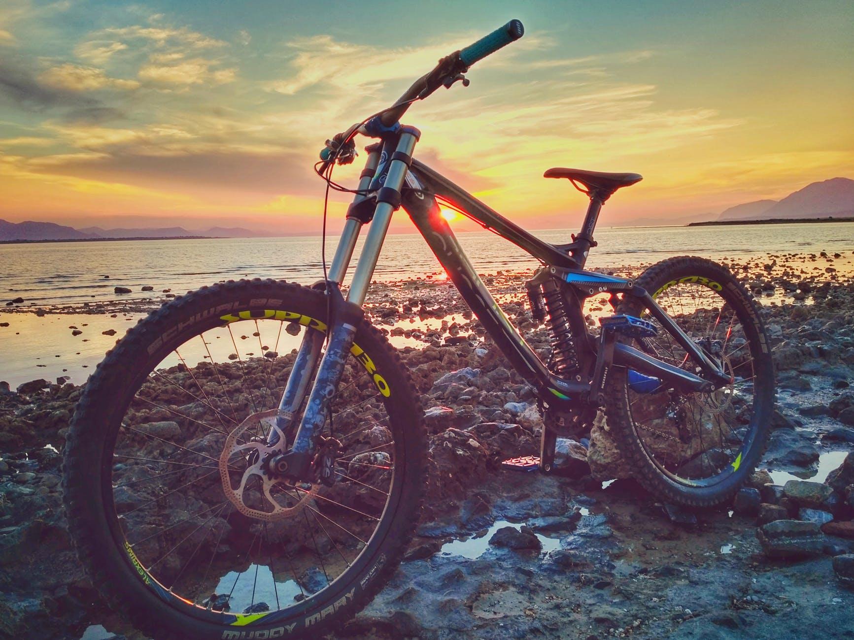adventure beach bicycle bike