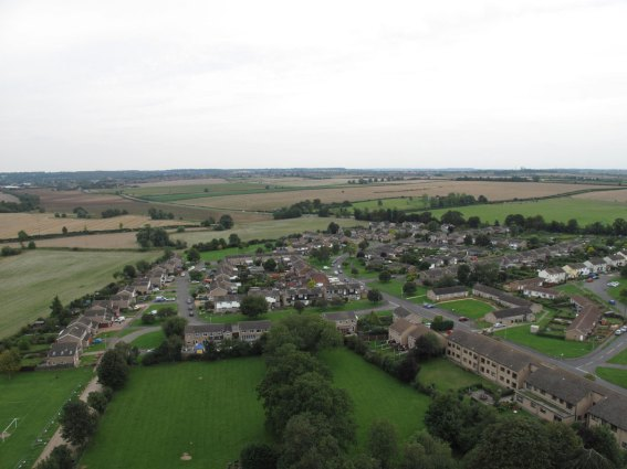 Ryhall from Above Copyright Owen Rushby 05