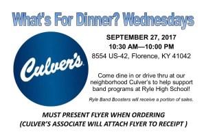 Culver's Flyer