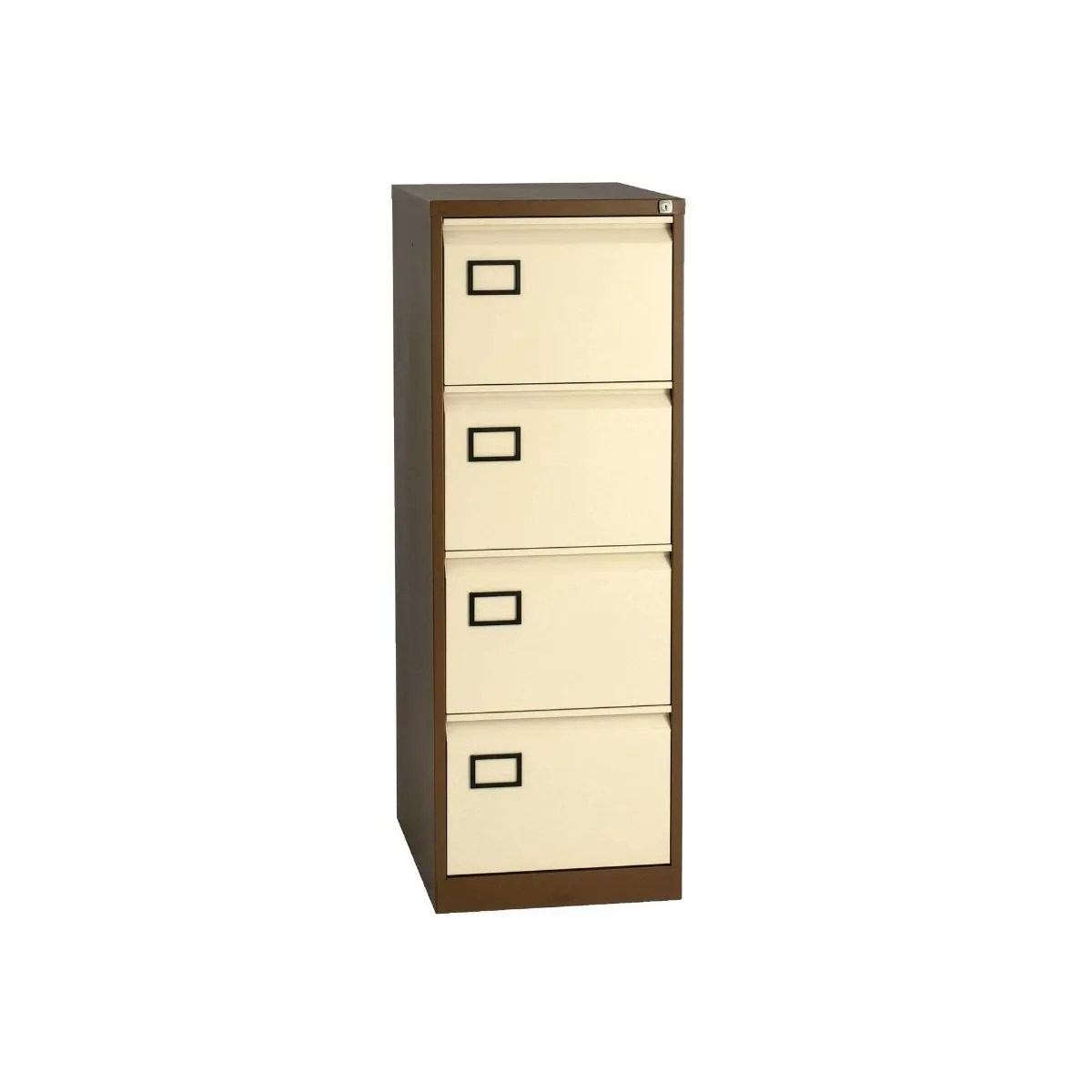 ... Bisley Filing Cabinet Lock By Bisley 4 Drawer Filing Cabinet Foolscap  Coffee Amp Cream ...