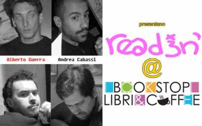 reading @ libreriaCaffè Bookstop