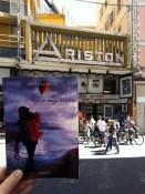 Giro del mondo in ottanta foto: Matilde al teatro Ariston di Sanremo
