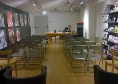 I preparativi della moderatrice Debora Zanardini