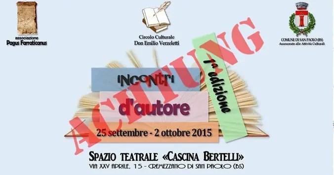 Achtung: Presentazione Pelicula @ Cascina Bertelli Franzelli