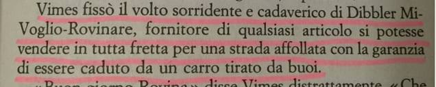 A me le guardie - Terry Pratchett - pag 123