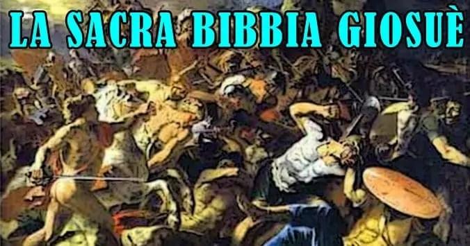 Giosuè, la Sacra Bibbia