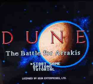 Dune II Start Game