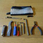 自転車旅行でいつも持ち歩いている工具のお話