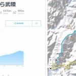 武嶺を越える台湾自転車旅行5日間、コースが決まりました。