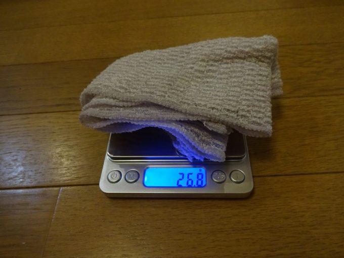 体洗い用タオル