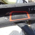 タイヤのバーストはパッチゴムで応急修理出来る時もある