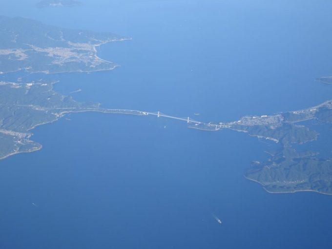 空から見える橋