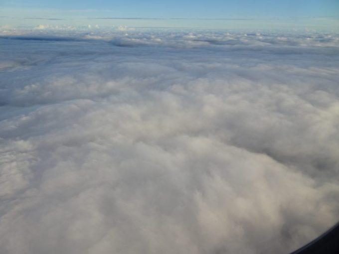 雲の上はいつも絶景