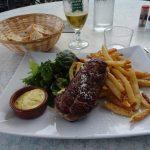ピレネー山脈5つの峠を越える旅での食事