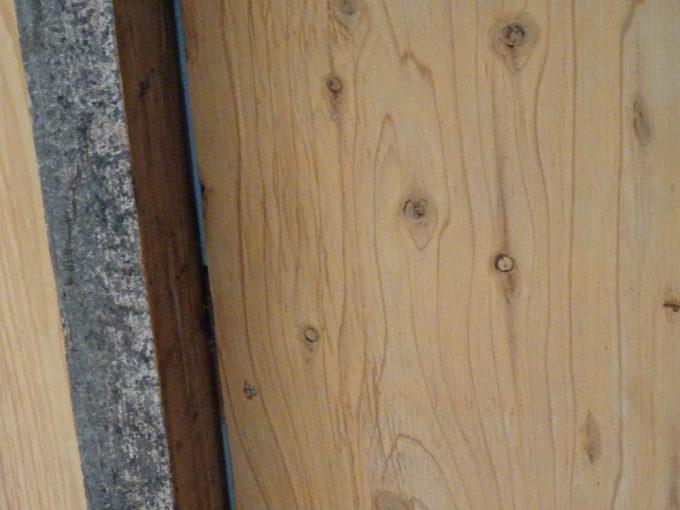 断熱の上に構造用合板