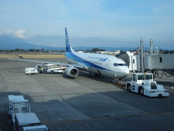 鹿児島から伊丹へANA便
