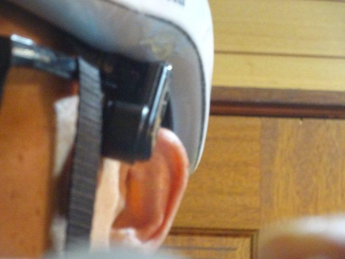 GOOSERAのBluetooth接続骨伝導 ヘッドセットを付けてみた