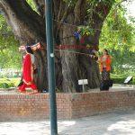 ネパールのルンビニに有る世界遺産。ブッダ生誕の地へ ネパール旅 3日目その2