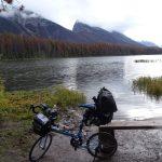 カナダ・カナディアンロッキーをBikeFridayとハイキングで満喫する旅7日目その2