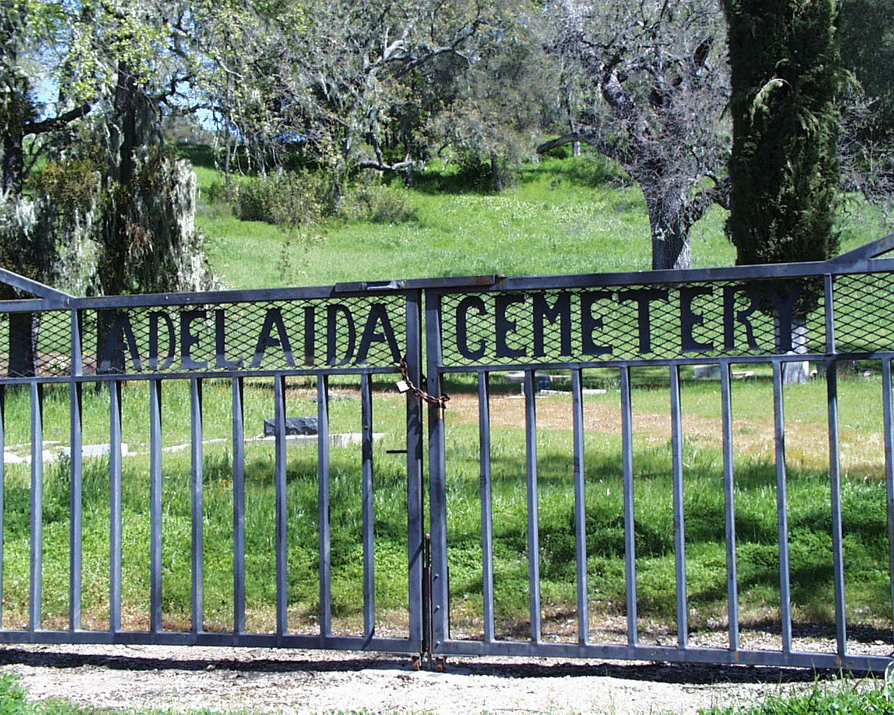 Adelaida Cemetery in Paso Robles, California