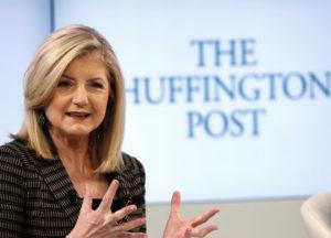 Inizia la consulenza aziendale Arianna Huffington su ryrob