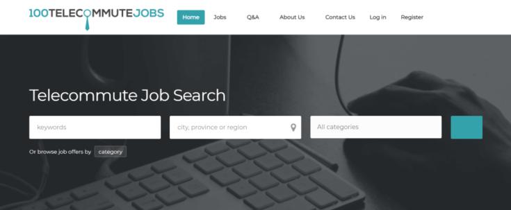 Remote Jobs Websites 100 Telecommute Jobs
