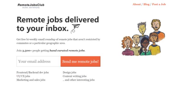 Remote Jobs Websites Remote Jobs Club