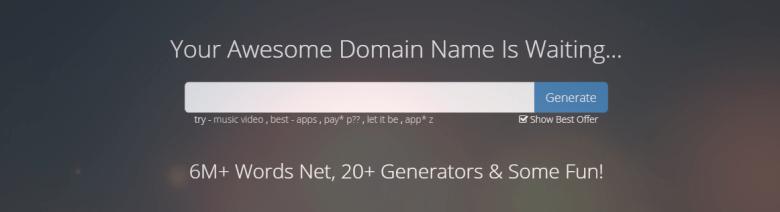 Generatori di nomi principali per nome mesh