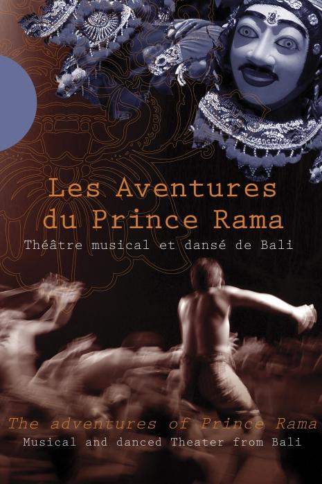 Bali : Théâtre musical et dansé - Les Aventures du Prince Rama